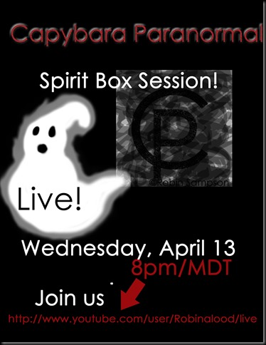 Spirit Box Live april13